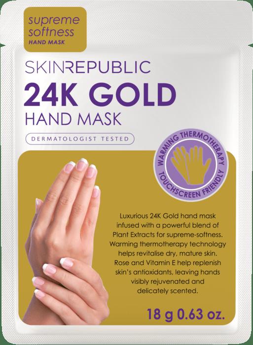 SKIN REPUBLIC 24K Gold Foil Hand Mask