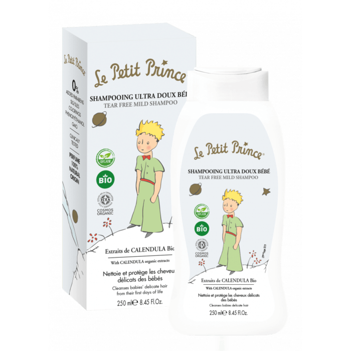 LE PETIT PRINCE Mildes Tränenfrei-Shampoo 250ml - mit Extrakten aus Bio-Calendula