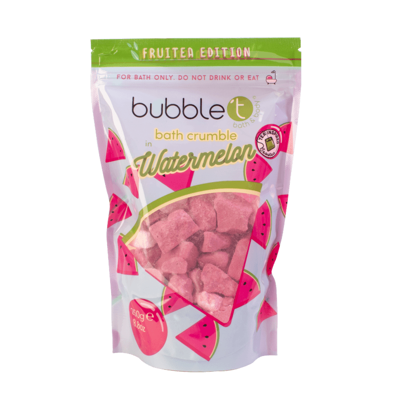BUBBLE T FRUITEA BATH CRUMBLE WATERMELON