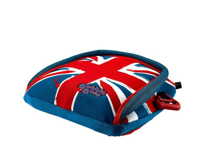 BUBBLEBUM Sitzerhöhung ECE R44/04 BRITISH FLAG