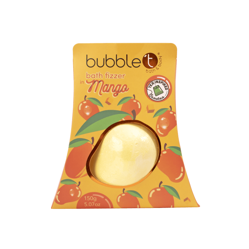 BUBBLE T FRUITEA BATH FIZZER MANGO