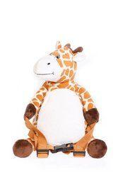 BoBo Kleinkind Rucksack mit Leine Giraffe