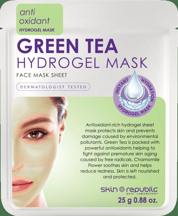 SKIN REPUBLIC Green Tea Hydrogel Face Mask Sheet