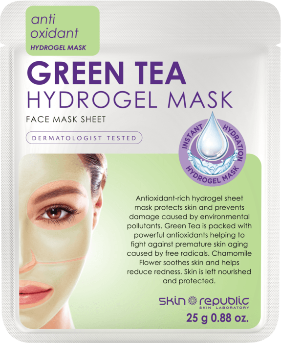 Green Tea Hydrogel Face Mask Sheet