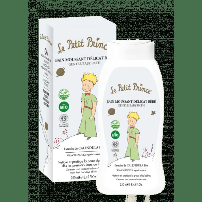 LE PETIT PRINCE Mildes Baby-Bad 250ml - mit Extrakten aus Bio-Calendula