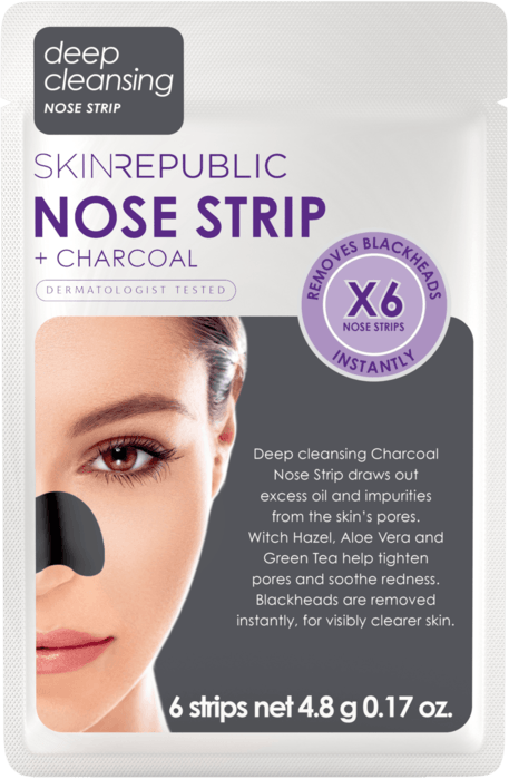 Charcoal Nose Strips (6 PAIRS)