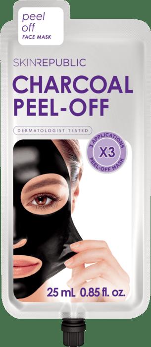 SKIN REPUBLIC Charcoal Peel-Off Face Mask 25ml