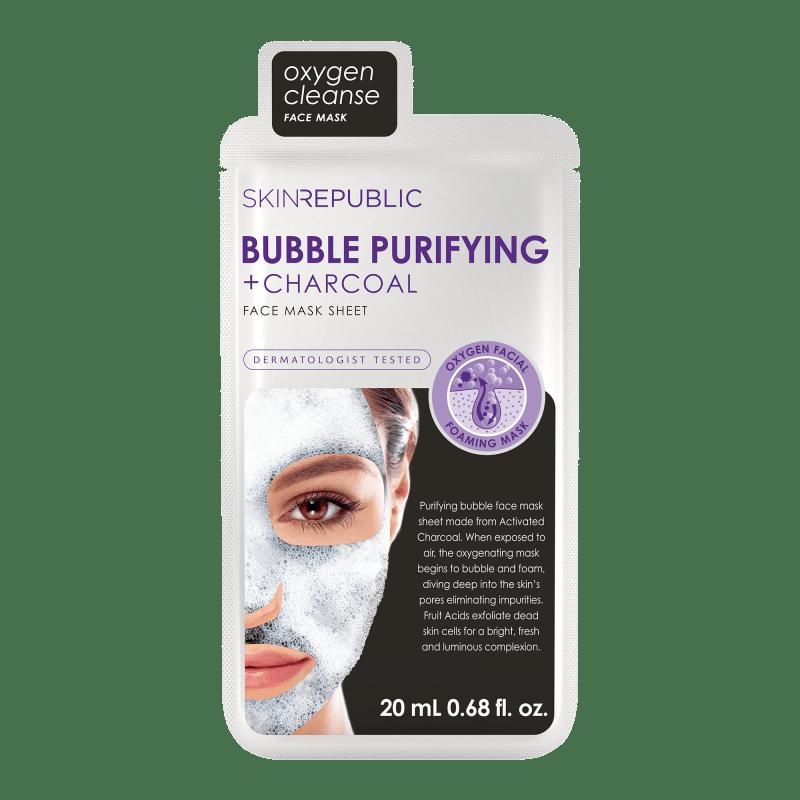 Bubble Purifying + Charcoal Gesichts-Tuchmaske 20ml