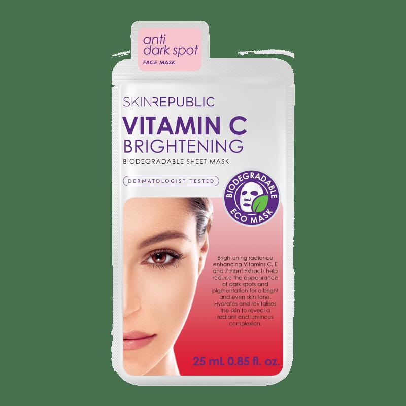Vitamin C Brightening Gesichts-Tuchmaske 25ml