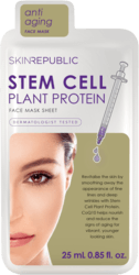 SKIN REPUBLIC Stem Cell Plant Protein Face Mask 25ml