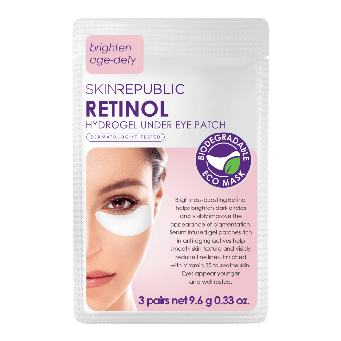 Retinol Under Eye Patches