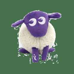 EWAN DELUXE Traumschaf PURPLE mit Crysensor und waschbar