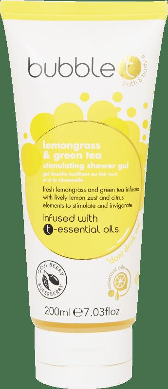 BUBBLE T LEMONGRASS & GREEN TEA SHOWER GEL 200ML