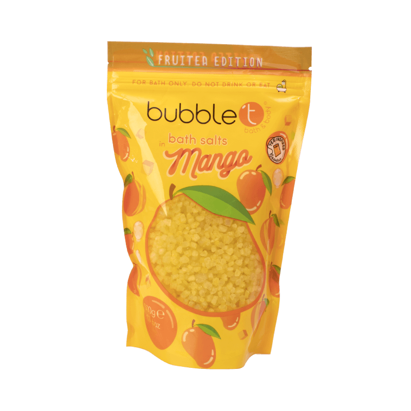 BUBBLE T FRUITEA BATH SALTS MANGO