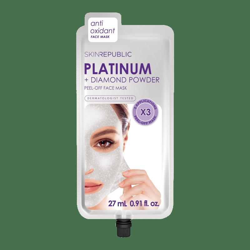 Platinum Peel-Off Face Mask (3 MASKS)