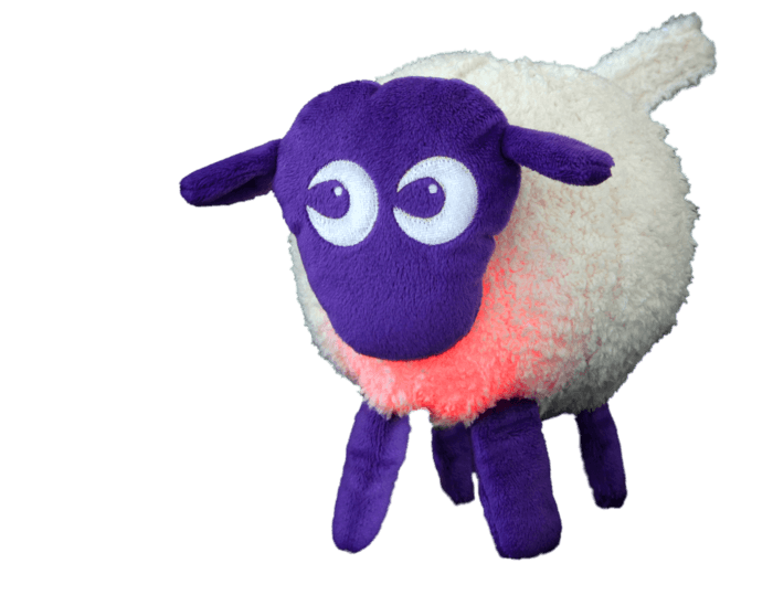 EWAN the dream sheep Traumschaf Einschlafhilfe PURPLE