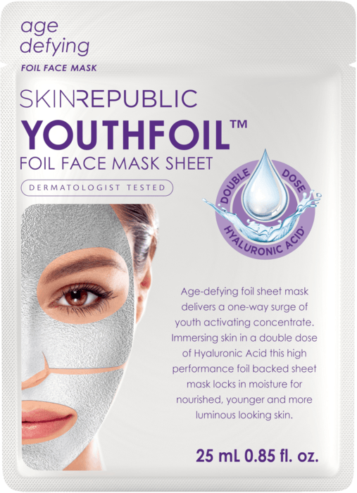 SKIN REPUBLIC Youthfoil Gesichts-Tuchmaske 25ml
