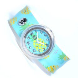 WATCHITUDE Slap Watch 349 Sleeping Pineapple Kinderuhr