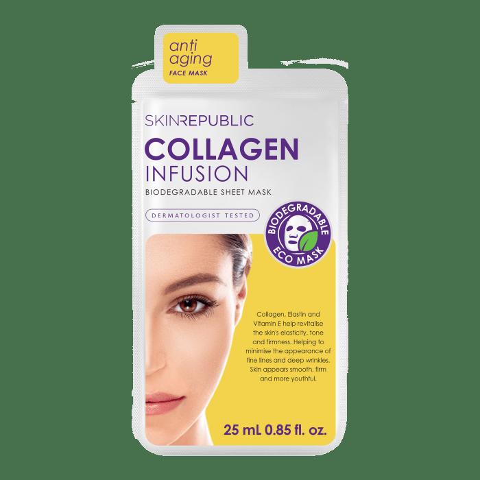 Collagen Infusion Gesichts-Tuchmaske 25ml