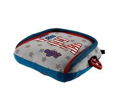 BUBBLEBUM Sitzerhöhung ECE R44/04 STARS & STRIPES