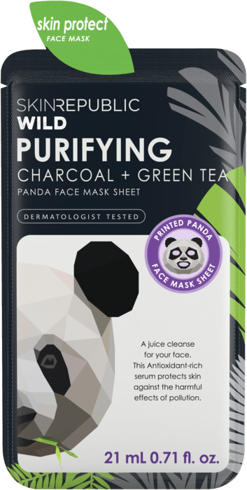 SKIN REPUBLIC Purifying Panda Face Mask Sheet