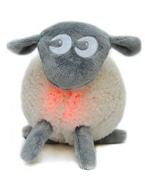 EWAN the dream sheep Traumschaf Einschlafhilfe GRAU