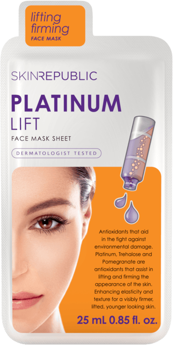 SKIN REPUBLIC Platinum Lift Gesichts-Tuchmaske 25ml