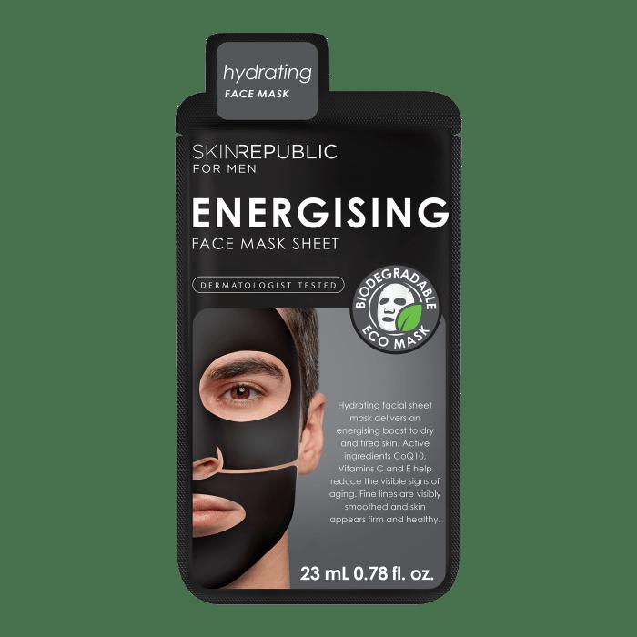 Men's Energising Face Mask Sheet